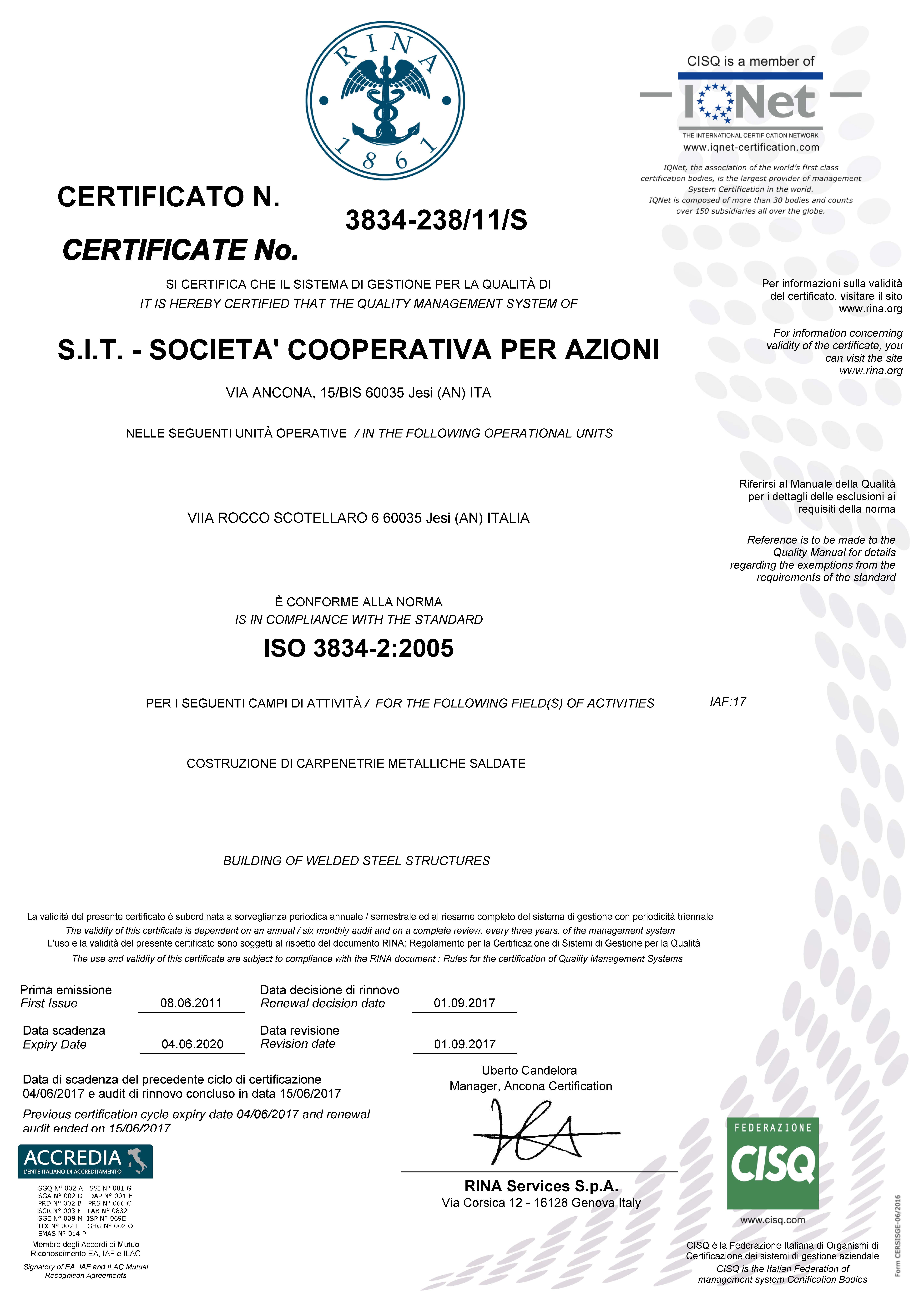 ISO 3834-2:2005
